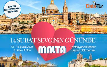 14 Şubat Sevginin Gününde Malta