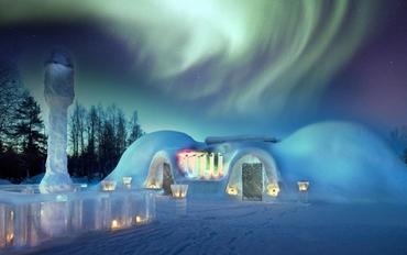 Lapland ''Kuzey Işıkları'' Rovaniemi