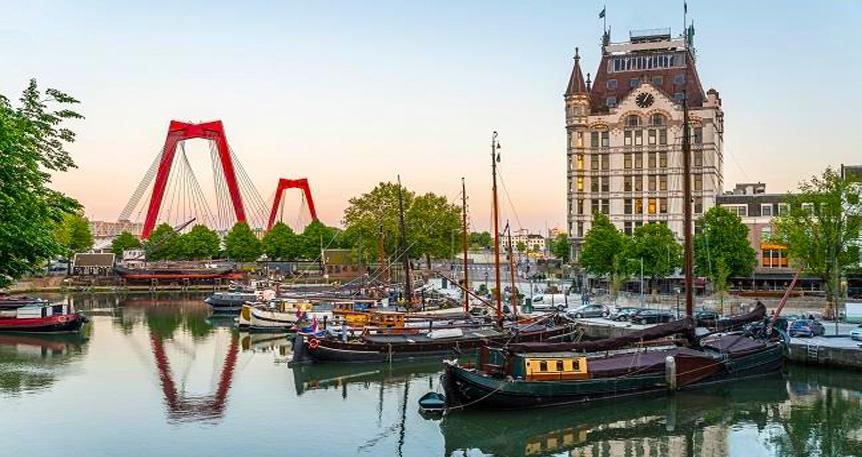 Kuzey Avrupa, Nehir ve Kanallar