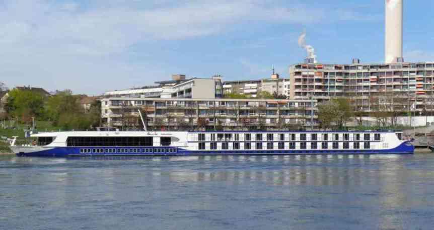 MS CruceBelle ile Ren Nehrinde Yılbaşı