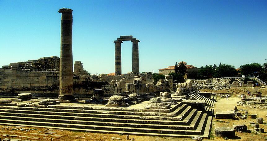 Ay Tanrıçası Selene'nin İzinde:Priene-Didim-Milas