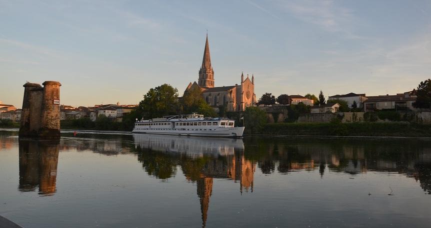 Muhteşem Bordo Garonne & Dordogne Nehirleri