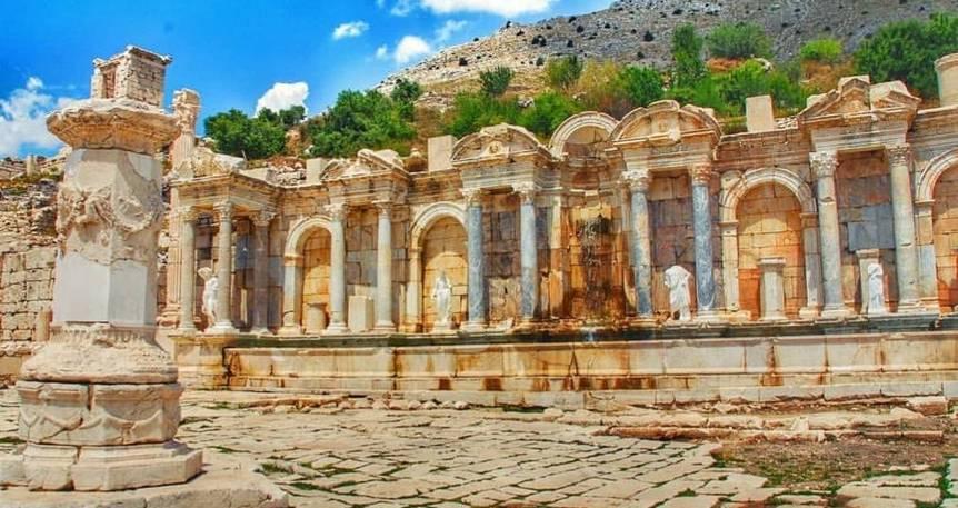 Gül Hasadı - Kibyra & Sagalassos Antik Kentleri - Salda Gölü