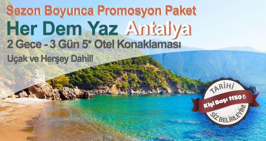 Her Dem Yaz Antalya