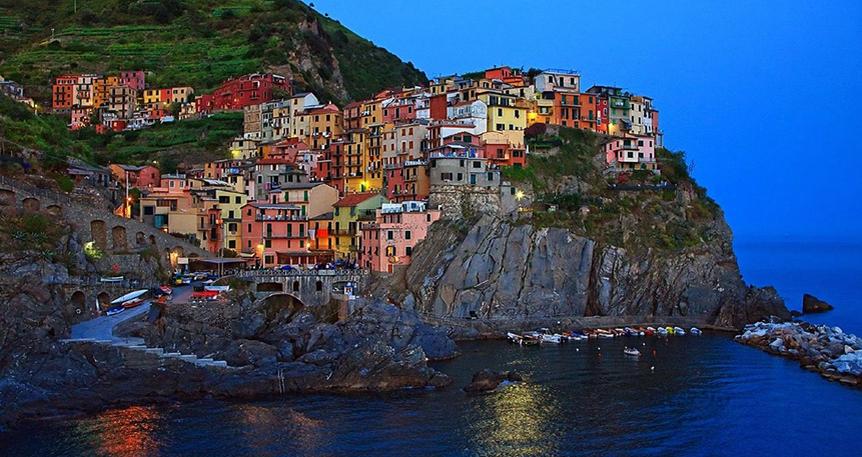 Şeker Bayramında 'Cinque Terre & İtalyan Rivierası'