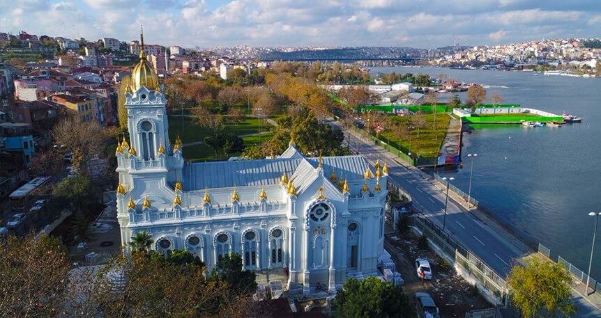 Tepelerden Kıyıya Haliç-Fener-Balat ve Demir Kilise