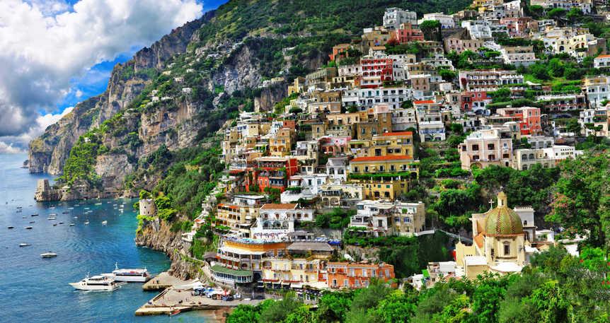 Amalfi & Positano : Güneşin Sahili