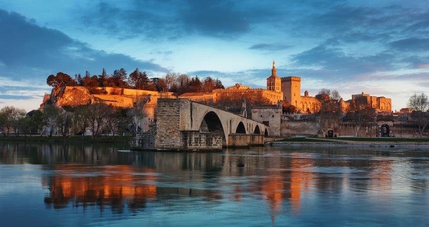 Rhone Nehri & Güney Fransa & Provence